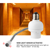 Hotel corridor night light control sensor lamp holder