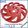 New type environmental diamond cup wheel for coating