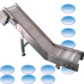 304SS product conveyor packing machine