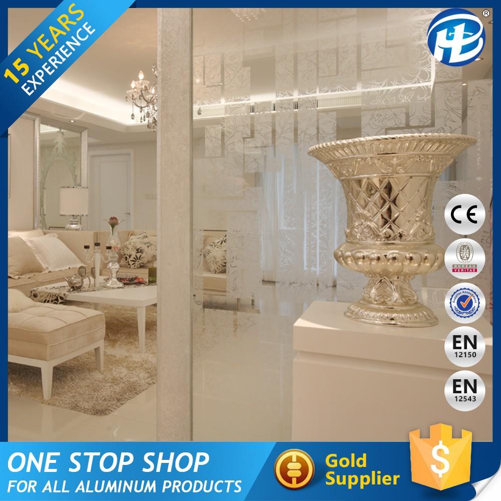 Nice Quality Living Room Glass Partition Design