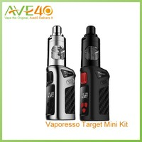 2016 wholesale New arrival Electric cigarette 2ml atomizer top filling 40W mod box watt Target Mini kit