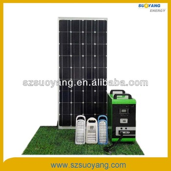 Stand Alone Home Solar Kit 150W