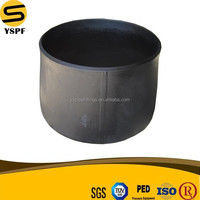 Carbon steel pipe fitting Butt-welding reducer large size ASME B16.9 bw reducer welded seam