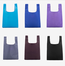 Promotional cheap eco friendly foldable polyester shopping bag