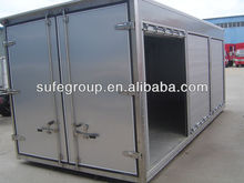 hot sale corrugated aluminum truck body/van box/CKD box