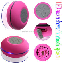 New design altavoz sin hilos del bluetooth,bluetooth waterproof speaker,shower speaker