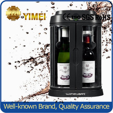 Hold 2 bottles Red Refrigerated Wine Dispenser Machine