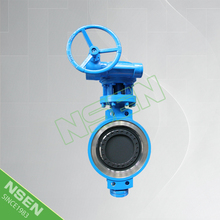 NSEN Fast Delivery! Good Price Triple Eccentric Wafer Butterfly Valve A216 WCB