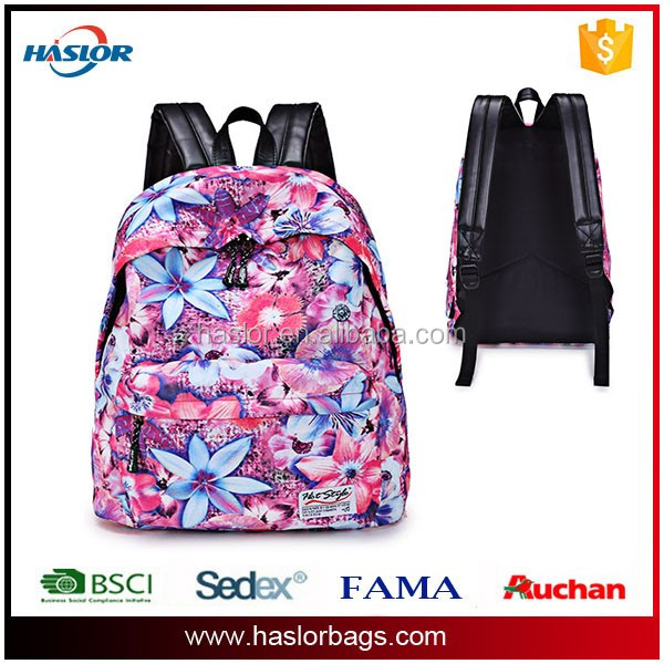 2016 new design kids wholesale backpack child school bag for teenagers