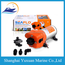 Seaflo Brand DC 12V High Pressure Water Diaphragm Pump 40 PSI 4.5 GPM. With Fittings For Marine Boat RV Equiment