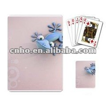 Customized animal playing cards