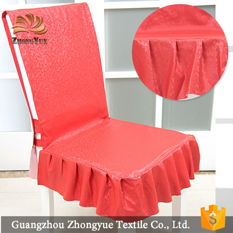Royal style heat-resisting chair cover for dining or wedding wholesale