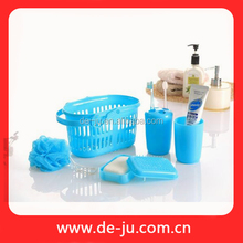 Plastic Basket Set Cheap Price Bathroom Accessories