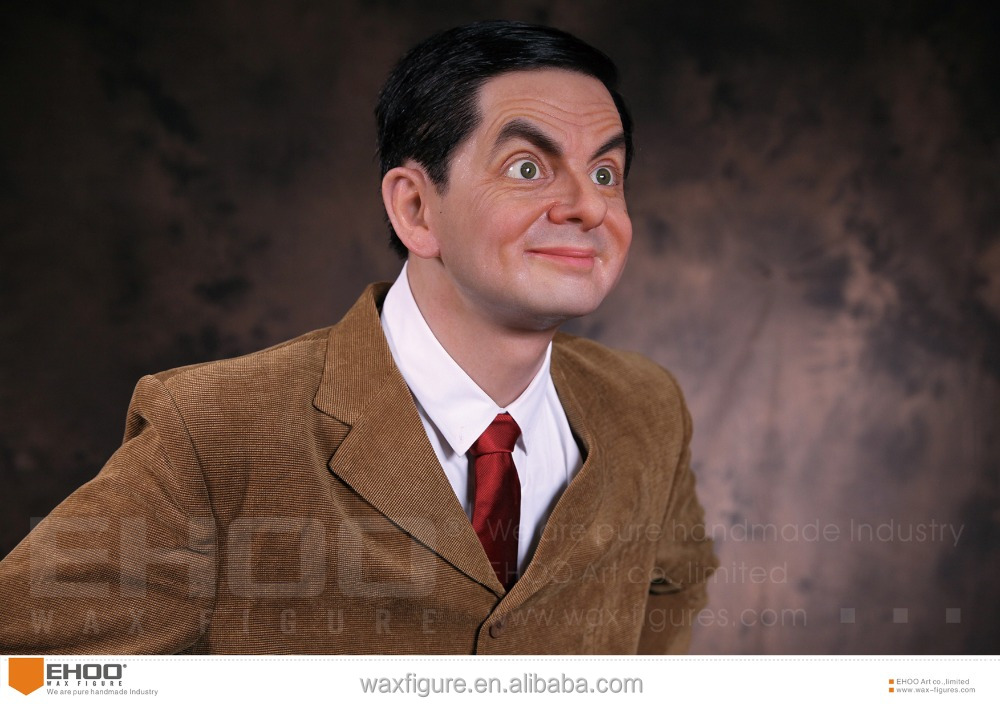 Mr Bean Action Movie Hollywood Wax Statue Wax Figure