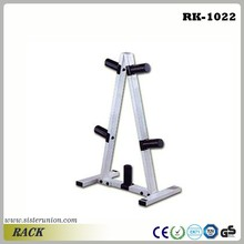 GYM Club Fitness A Type Weight Plates Dumbbell Rack