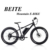 2017 New design hot sale 48V 500w cheap price fat tire mountain ebike