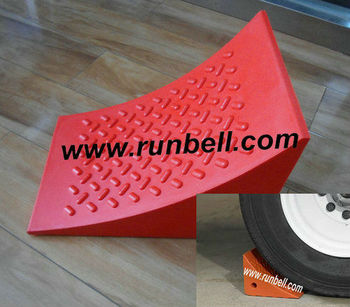 Urethane Wheel Chock Wedges for Trucks