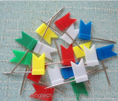 Flag push Pin / Flag office Pin / Office Map Pin