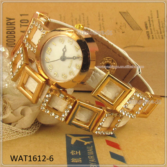 Latest cortical white diamond watches WAT1612-6