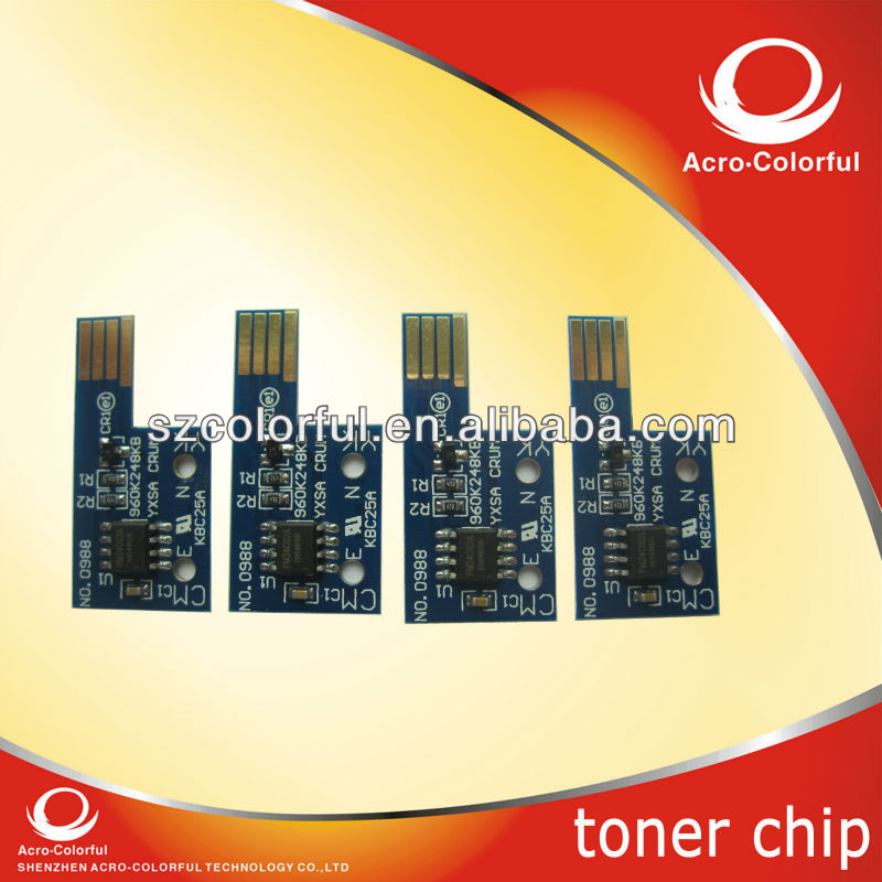 6125 Compatible laser printer cartridge reset toner chip for Xerox Phaser 6125