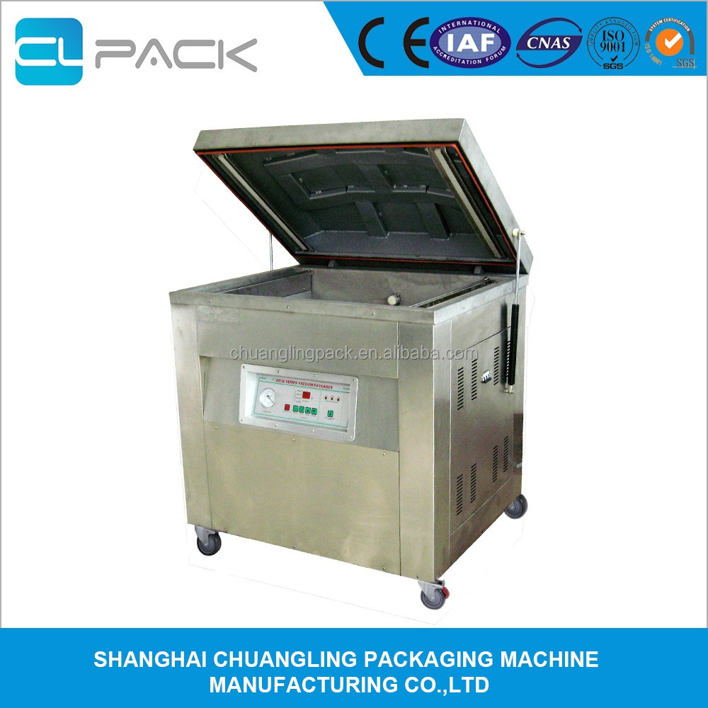 DZ-800/2E Industrial Vacuum Sealer Packaging Machine with single chamber