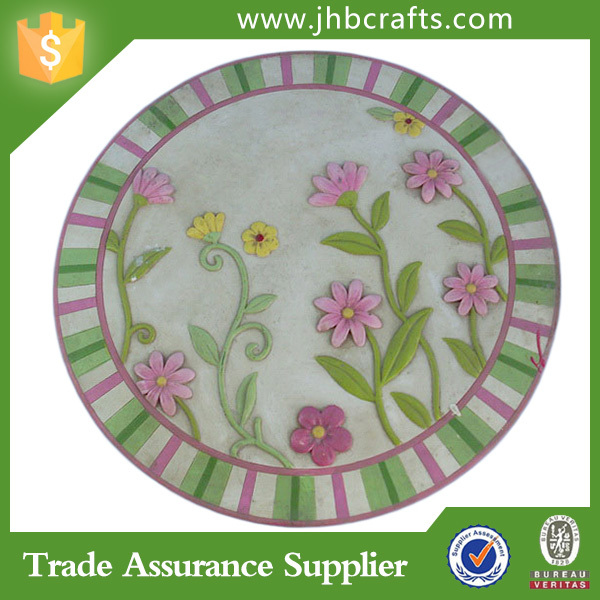 Decorative Round Flower Cheap Garden Stepping Stones