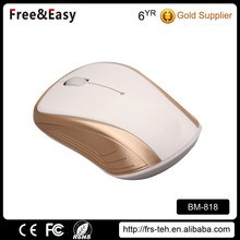3D wheel portable PC 2.4Ghz optical wireless mouse