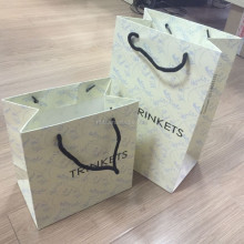 Fancy New Paper Shopping Bag for Garment or Cosmetic,Recycled and Eco-friendly
