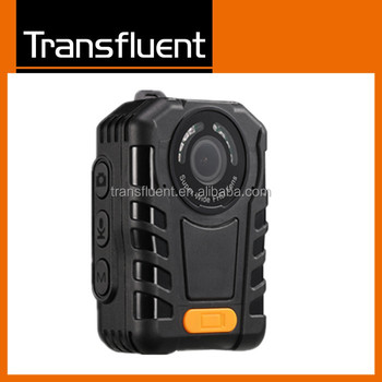China Factory IP68 Waterproof 1296P HD 10 hours continuous recording police body worn camera with 4g wifi GPS