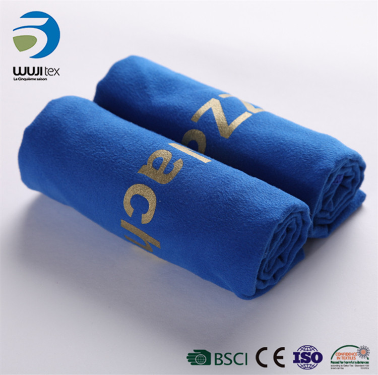 Double Side Golf GYM Velor quick dry microfiber sports towel