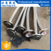 Flexible PTFE convoluted hose teflon biraded hose design for chemically and food
