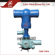 Accept custom electric high temperature high pressure power station gate valve 4 inch