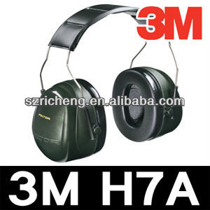 3M high quality earmuffs Hearing protector Ear muff with adjustable headband H7A