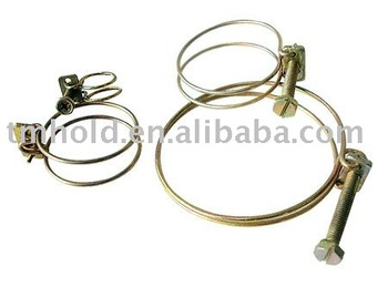 Double wire hose clamp(screw:G8.8)