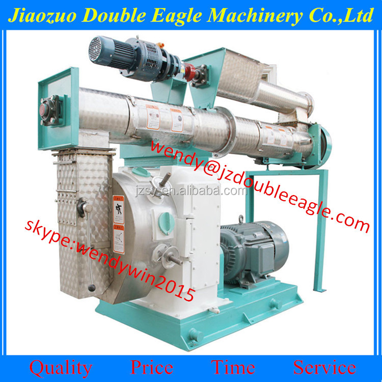 Factory direct sale large output ring die type sawdust wood pellet mill machine/wood pellet mill