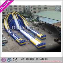 giant inflatable water slide for adult, Lilytoys hippo inflatable water slide