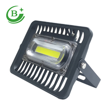 2017 super bright CE Rohs IP65 waterproof outdoor cob 50w led flood light