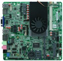 Intel Celeron 1037U motherboard with LVDS, Ultra Thin Mini ITX All In One Motherboard