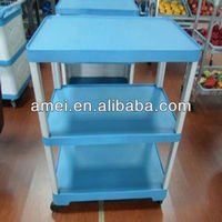 Customized plastic floor bottle display stand Wholesale