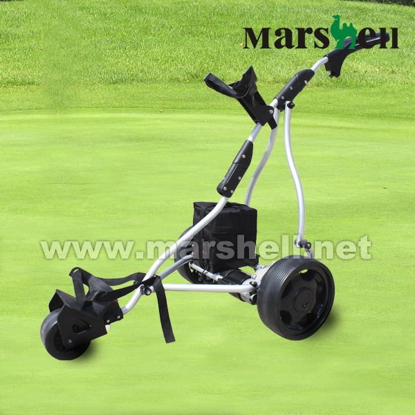 3 wheels easy control electric golf trolley DG12150-A from manufacturer
