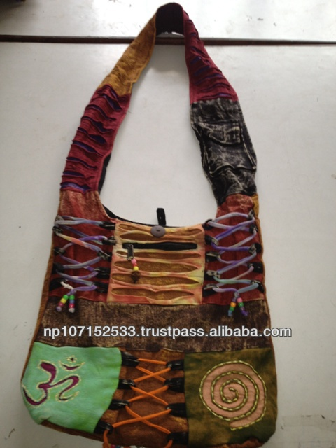 SHB77 cotton bag with string knot price 250rs $2.94