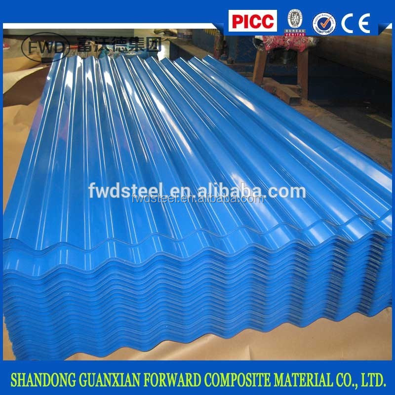 coated Corrugated galvanized sheet plate iron Manufacturer for building roof raw material of PPGI/PPGL