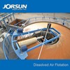 Superficial air flotation in paper mill wastewater treatment