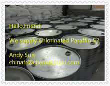 Factory Direct Chlorinated Paraffin-52 for PVC / light yellow or yellow oily thick fluid
