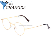 Stock optical frame golden frame eye glasses eyewear frame glasses