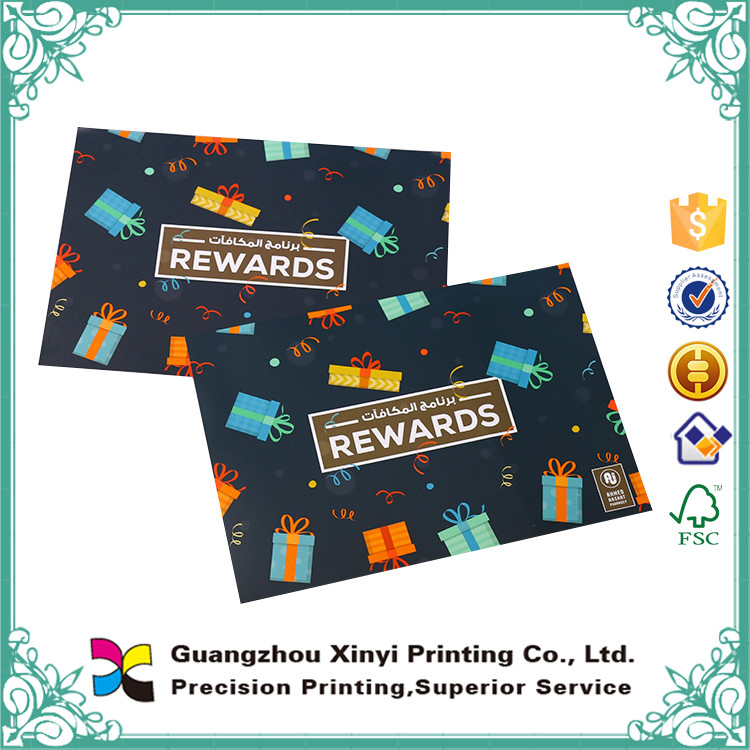 High quality customized art paper lamination cheap brochure printing