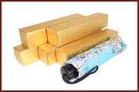 golden cardboard color box packaging with matt lamination
