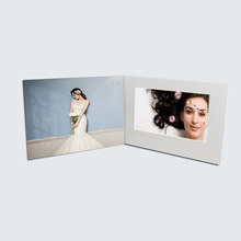 Hot sale 4.3'' 5'' 7'' manufactory customized TFT LCD screen video wedding invitation card