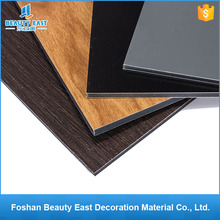 3mm Wood Grain PVDF Alucobond / ACP Sheets / Aluminum Composite Panel Price