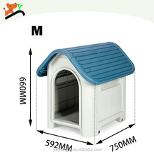 Factory Direct Shipping PP Pet Cages Luxury Waterproof Outdoor Dog House Wholesale